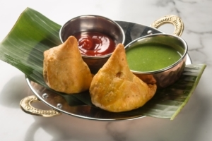 Bangera's Kitchen Jimbocho | Vegetable Samosa